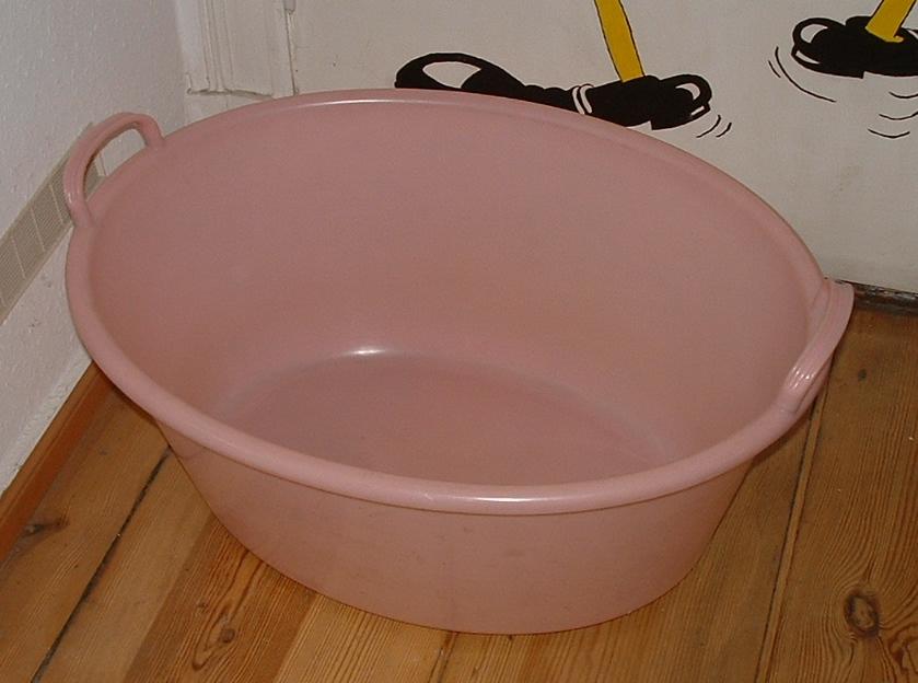 kleine ovale wanne babybadewanne rosa 40l w schewanne kunststoff ebay. Black Bedroom Furniture Sets. Home Design Ideas